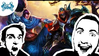 TI KÉRTÉTEK Yasuo + Zed│League of Legends Magyar Gameplay (HUN)