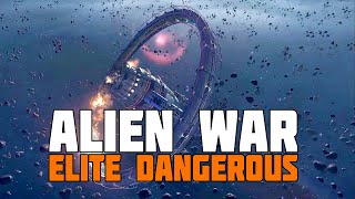 Elite Dangerous - The Alien Story: War!
