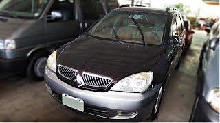 2004年 Mitsubishi Savrin 黑紫色 三菱中古休旅車