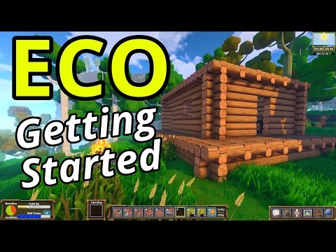 ECO Gameplay - Getting Started (Global Survival Sandbox)