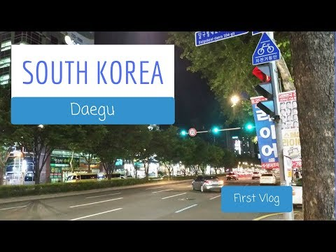 SOUTH KOREA: FIRST VLOG!