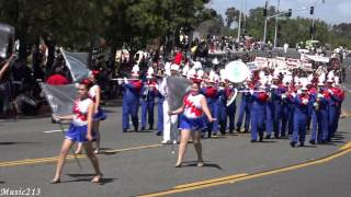 From Ontario, CA De Anza Middle School Marching Band performing the...
