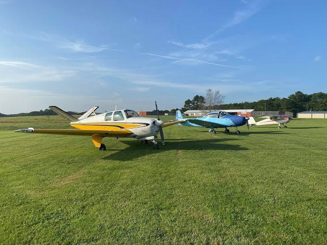 Flying Dad to lunch at Peachstate Aerodrome GA2