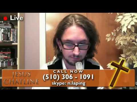 Jesus Chatline 28th May 2011 Full Episode 4chan Troll Raid