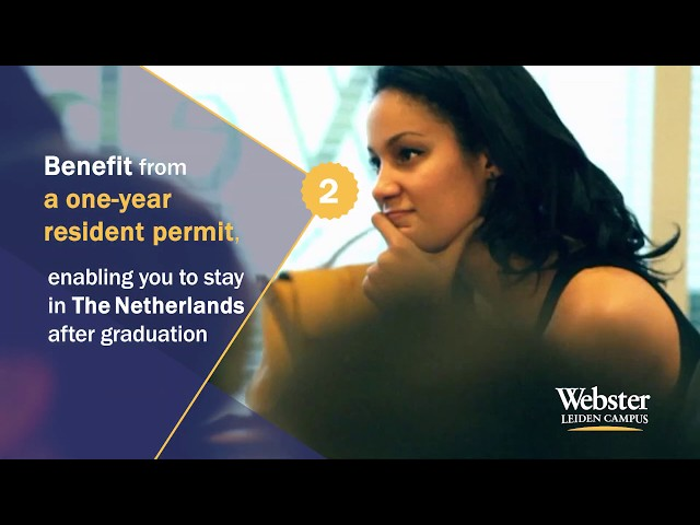 9 Reasons to study in Webster Leiden Campus