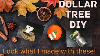 $3  Dollar Tree DIY - Country Living Pumpkin