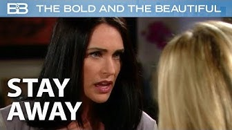 The Bold and the Beautiful / Quinn SLAPS Brooke