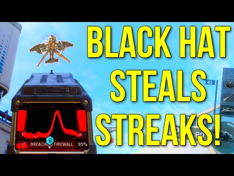 Black Ops 3: Black Hat Steals Scorestreaks! (Call of Duty: Black Ops 3 Gameplay)