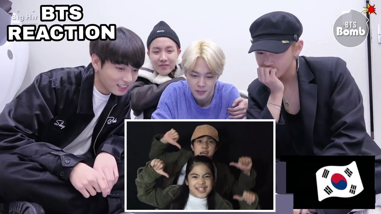 BTS MEMBERS [방탄소년단] REACTION TO RANZ AND NIANA MUSSICALLY COMPILATION