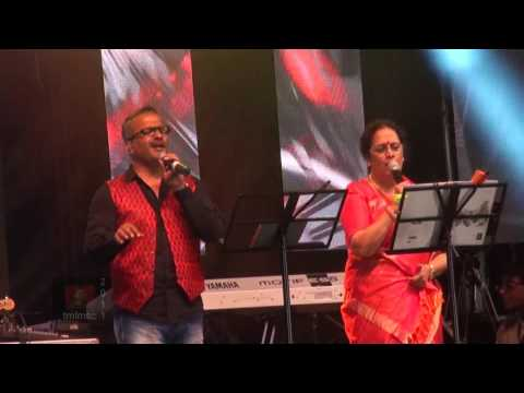 SPB 50 Grand Musical Tour In Toronto - S. P. B. Charan And S. P. Sailaja Sing Pesa Koodaathu