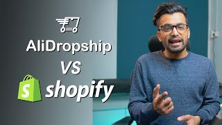 Alidropship vs Shopify - Which One Is Best For You?