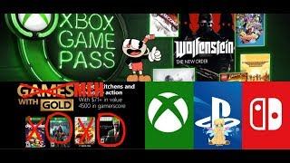 Xbox Centric Opinions Xbox October Games Pass Is Great! Xbox Meh With Gold Playstation Crossplay