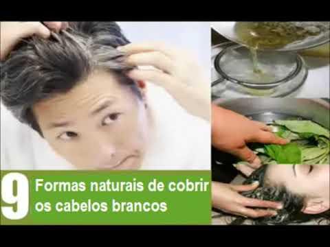 Formas de escurecer e prevenir os cabelos brancos