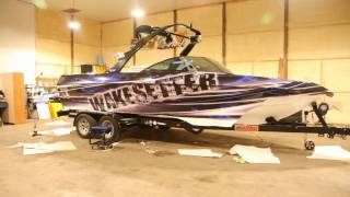 MN Boat Wraps Malibu Boat Wrap