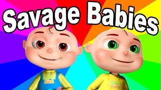 What Are The Savage Babies? The history and origin of the savage baby meme