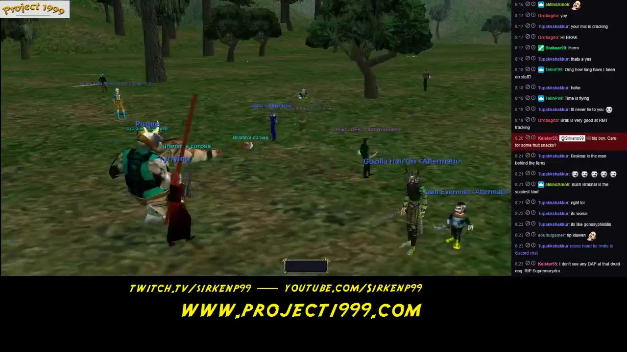 Sirken's SuperCast #86 ft: Braknar of the Project 1999 Staff!