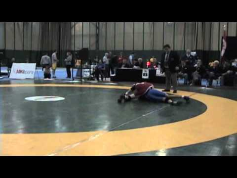 2009 Junior National Championships: 50 kg Greco Final JF Godin vs. Steven Takahashi