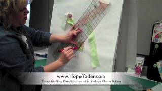 Charming Crazy Quilting with Hope Yoder