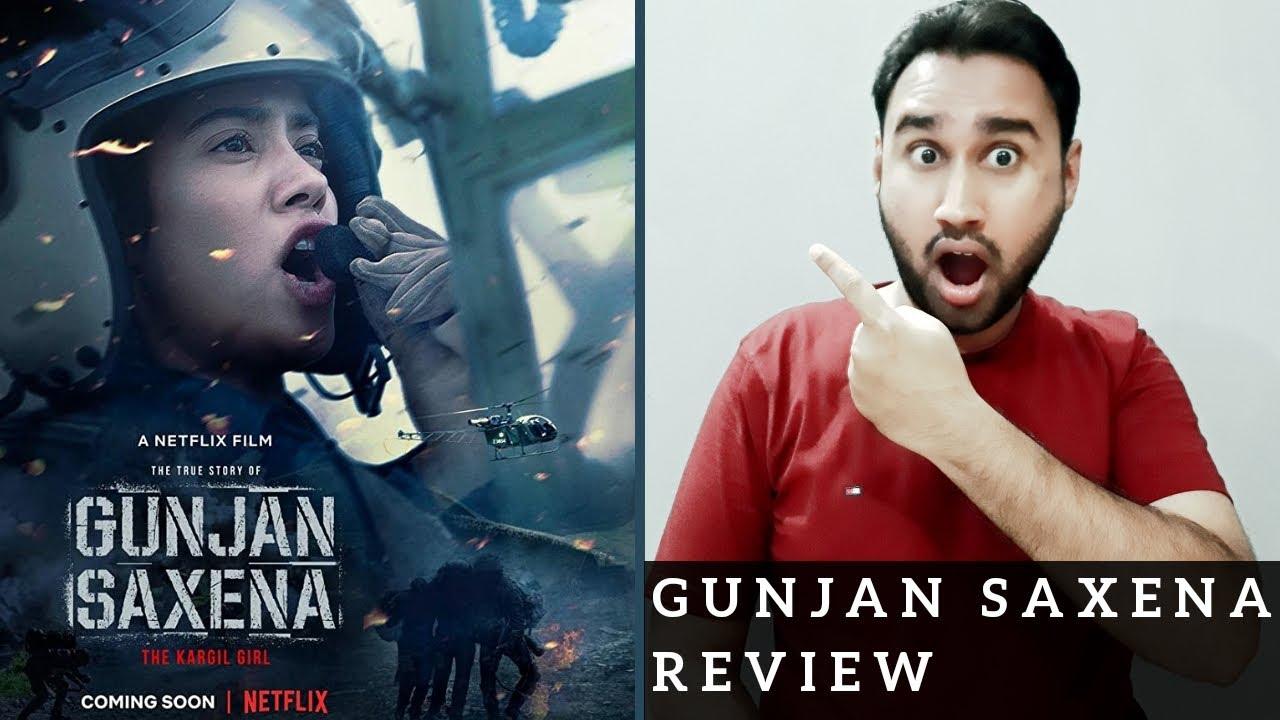 Gunjan Saxena The Kargil Girl Review   Netflix Original Film   Gunjan Saxena Netflix Review   Faheem