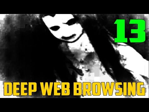 CREEPY HAMBURGER LADY VIDEO?! - Deep Web Exploration 13