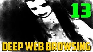 Creepy Hamburger Lady Video?! - Deep Web Exploration 13