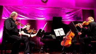 Festiwal Muzyka w Sandomierzu -Kwartet Prima Vista -Od F.Lista do H. Zarębskiego- 14 08 2011 r