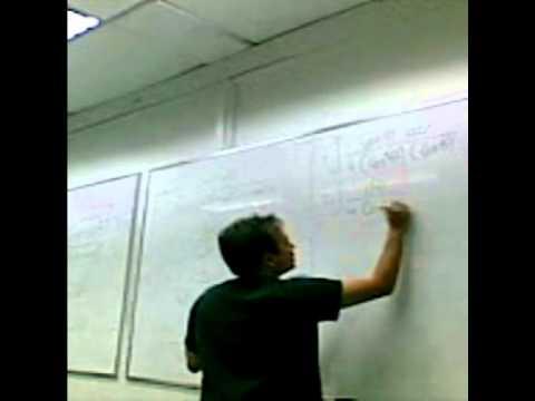Dinámica de Clase Matemática 2 (UNEFA, Ingenieria Telecom Nocturno cohorte 2-2011)