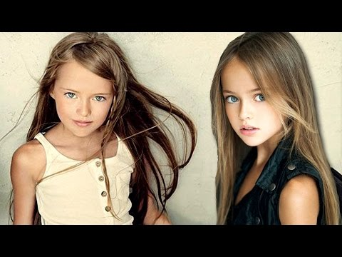 "9 Yr Old Girl Is The ""World's Most Beautiful Girl"" - Kristina Pimenova"