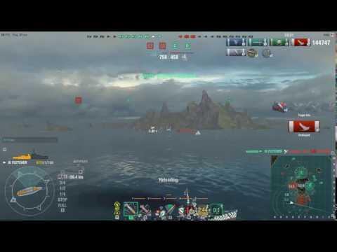 FLETCHER - World of Warships : Liquidator