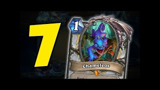 7 CRAZY WITCHWOOD INTERACTIONS W/ CHAMELEOS, VOODOO DOLL | HEARTHSTONE | DISGUISED TOAST