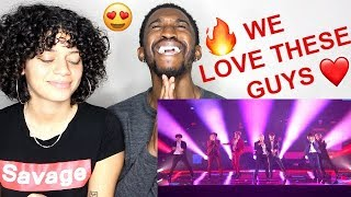 Global Sensation BTS Performs 'Idol' on America's Got Talent 2018 Reaction!! Jaz & Alex