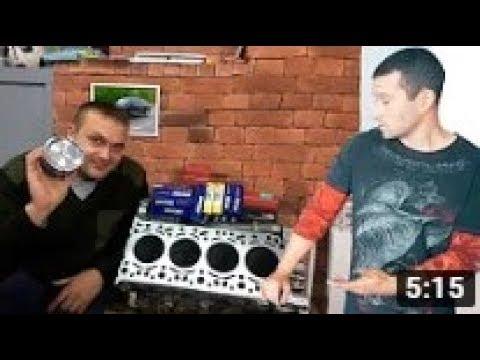 Миша Ходос и мотор от Каена.