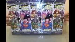 Heroclix Superman and The Legion of Super-Heroes Unboxing