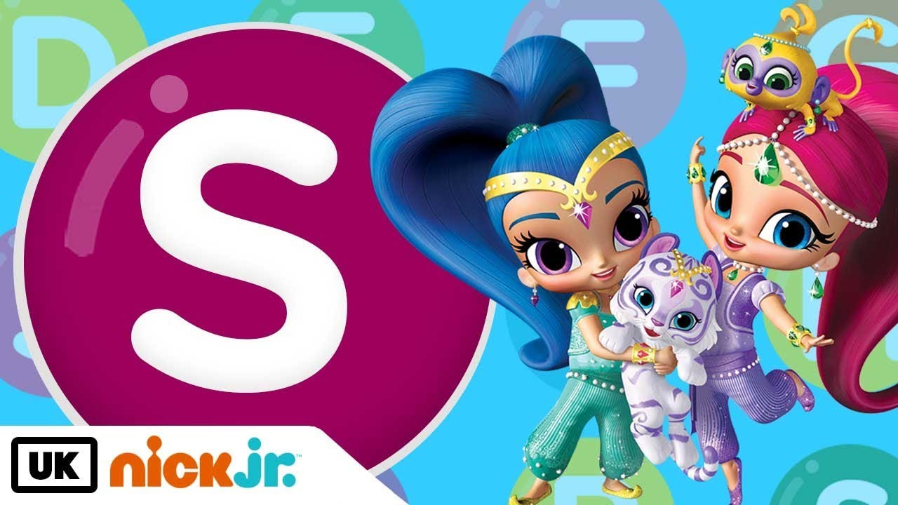 Words beginning with S! - Featuring Shimmer and Shine   Nick Jr. UK ...