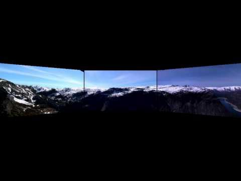Haugalandet fjord panorama