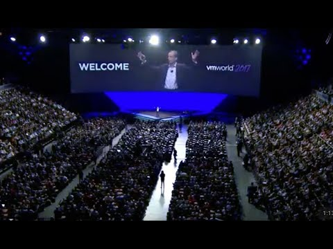 VMworld 2017 US - General Session Day 1