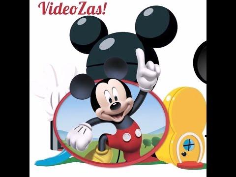 Hacer Invitación Mickey En Video Youtube
