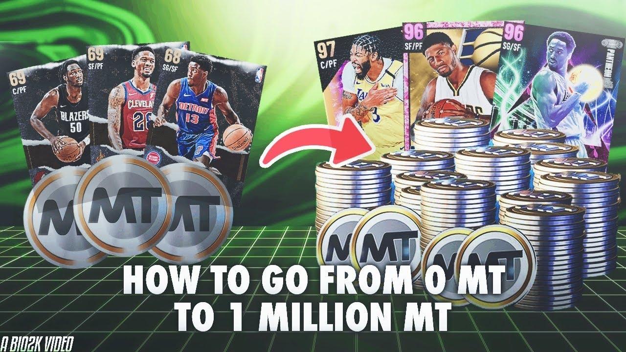 RSVSR NBA 2K: How to farm NBA 2K21 MT?