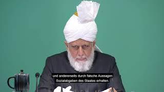 Die Stimme des Kalifen    gewissenhafter Verdienst
