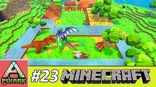 PIXARK - Minecraft Ark #23 - Jurassic Park Pixark - Công Viên Khủng Long Pixark