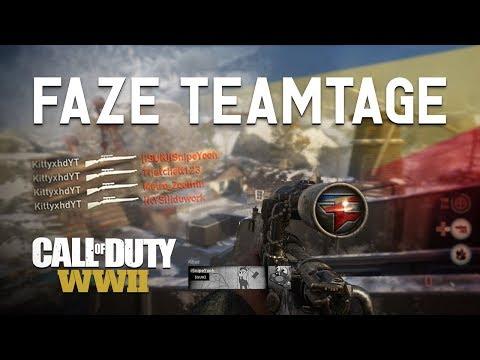 FaZe: First WWII Teamtage