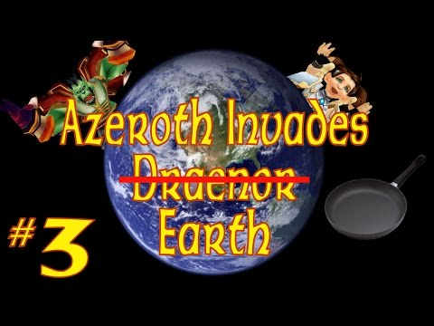 Azeroth Invades Earth: Transmog (WoW Machinima)