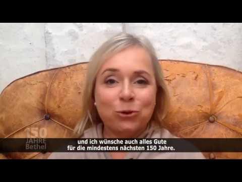 Videogrüße von ChrisTine Urspruch zum BethelJubiläum
