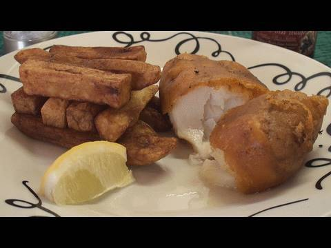 British Fish And Chips Recipe