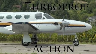 15 Minutes of Turboprop Action!