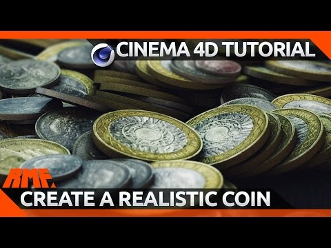 How to create a realistic looking coin in Cinema 4D