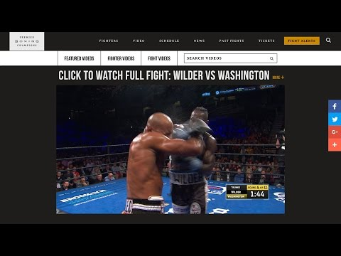 Wilder vs Washington FULL FIGHT PREVIEW: February 25, 2017 - PBC on FOX