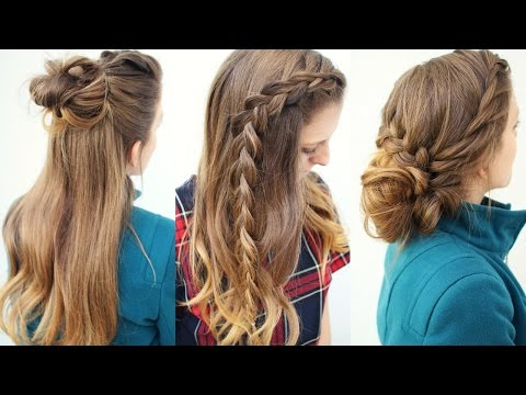 3 Cute Braided Hairstyles | Braided Hairstyles | Braidsandstyles12