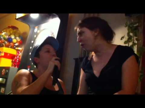 tu n'es pas la, sandrine et fanny, karaoke