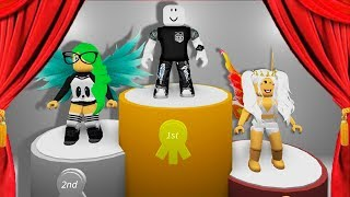 WINNING 1ST PLACE IN A FASHION CONTEST! (Roblox)
